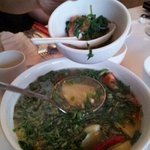 Awesome sweet and sour seafood soup