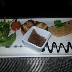 Entrée : Foie gras et son chutney