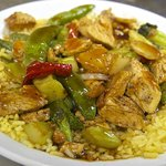 The Chicken Stir-Fry. Excellent!!!