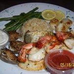 Fisherman's platter
