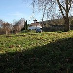 Jardín de 3000 m2  de casa rural la Boleta, Llanes