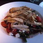 Chicken asparagus dish