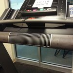 Nasty Gym Equipment #2. everything was broke. If you want a work out your better off on a run OU