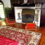tudor room mantle