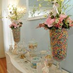 The Southard House candy buffet.