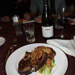 rib eye steak!