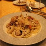 seafood and pasta @ capers...well done