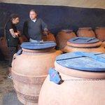 Guido Ann & olive terra cotta olive oil jars