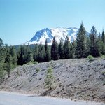 Mount Lassen from the north.
