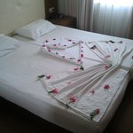 Nice bedmaking every day