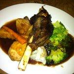 lamb shank sunday lunch