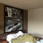 Again pic above bed!