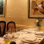 Parte del restaurante
