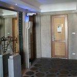 7.Etage mit Zimmer 701, links liegt Zimmer 702