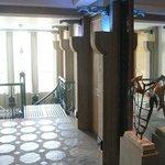 7.Etage - Blick zur Stahlwendeltreppe - 6.Etage zum Fahrstuhl