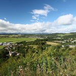 The View from the Terrace at The National Wallace Monument