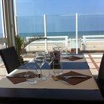 terrasse couverte face mer