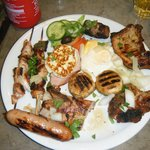 Mixed Grill Simply the best!