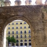 the hotel from the old city walls
