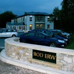 The newly repaired and renovated Bod Erw