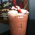 Rippin red tide!   Raspberry, chocolate, and espresso.   Yummmmmm