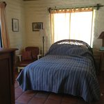 Authentic adobe style room