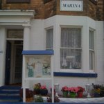 The front of Marina B&B Scarborough