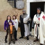 Our friends from Netherlands with the Templar Knights
