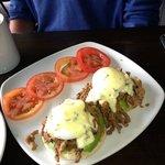 hubby's 'best breakfast ever'