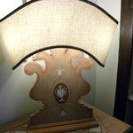 lampada in camera