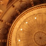 Our ballroom ceiling, the Dome Room
