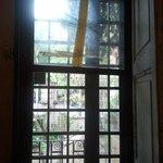 il panorama dalla finestra