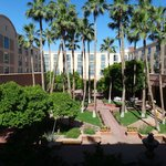 Tempe Mission Palms inner court