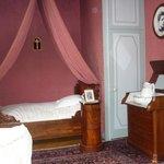Chambre où est né Charles de Gaulle