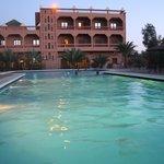 vue piscine perle draa