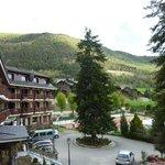 L'hotel vu du balcon