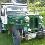 1950's Restored Willeys Jeep