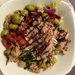 Salada mixta. Delicia