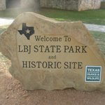 Sign at the LBJ Ranch
