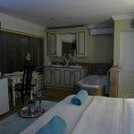 inside the honeymoon suite