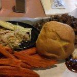 Beef Brisket Plate.