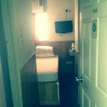 close to the elevator, room 801
