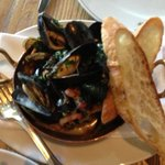 Pan Seared Mussels