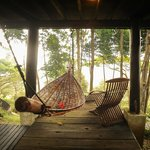 Hammock and deck chair