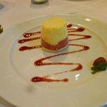 Sorbet for dessert
