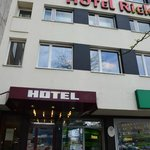 View on hotel