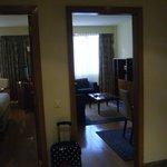 Entrée+Salon et chambre