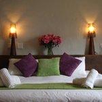 Comfortable beds, crisp linen