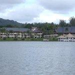 Het hotel van af het water van de Laguna