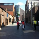 Walking back from Liverpool One